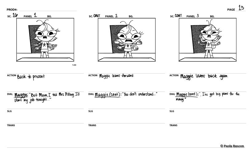 Buzz On Maggie (TEST)